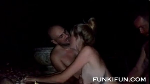 Real cuckold video wife shared outdoors